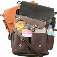 Leather Field Service Bag- Jehovah's Witness Supplies