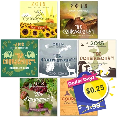 2018 convention fridge magnet for Jehovah's Witnesses Features the 2018 convention theme