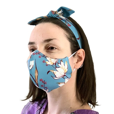Trendy Masks by Noemi - Reusable Protective Face Masks - With Headband