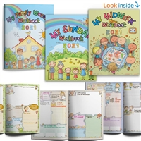 kids meeting notebooks