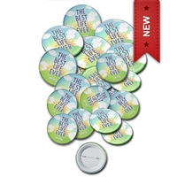 bulk pack of JW.org buttons