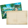 Ocean Paradise Blank Postcard for Letter Witnessing- Pack of 24