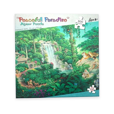 Puzzle for Jehovah's Witnesses Featuring Jungle Scene