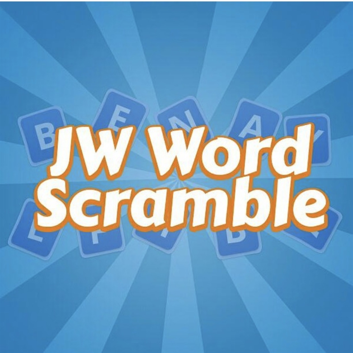 JW Word Scramble, the Word Game for Us, By Us