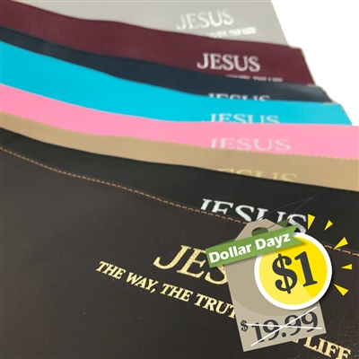 Leather Cover for 'Jesus - The Way the Truth, the Life' Book