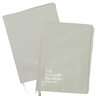 Leather Cover for 'Fully Accomplish Your Ministry' Book