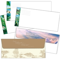JW Letter Writing Envelopes with Bible text- JW Supplies