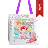 'Just Around the Corner' Tote