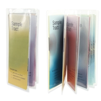 Plastic Tract Display Booklet-JW Pamphlet Holders
