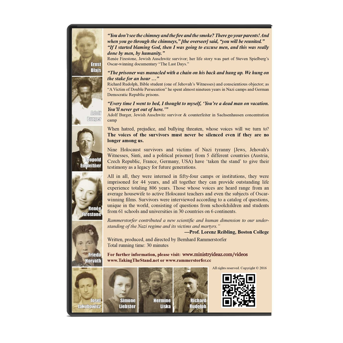 Holocaust documentary taking the stand digital download only fandeluxe Images