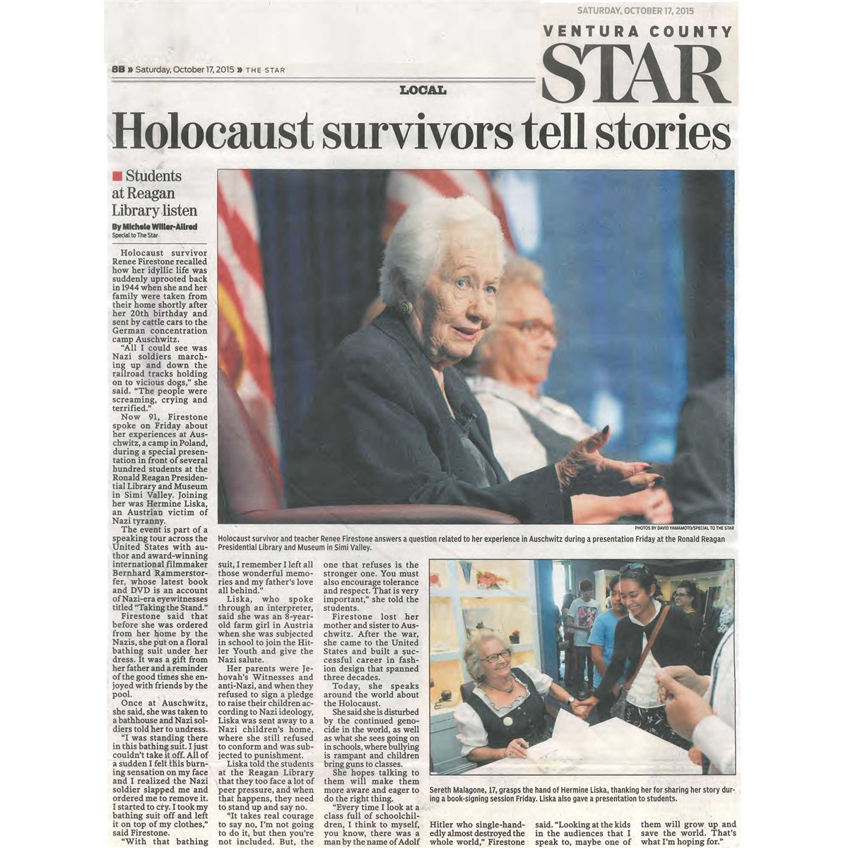 Holocaust documentary taking the stand digital download only fandeluxe Image collections