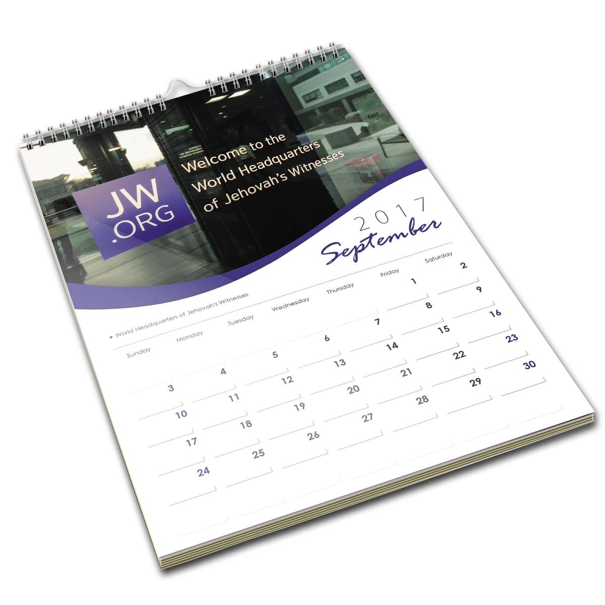 16 month jw wall calendar featuring warwick bethel september 2017 december 2018