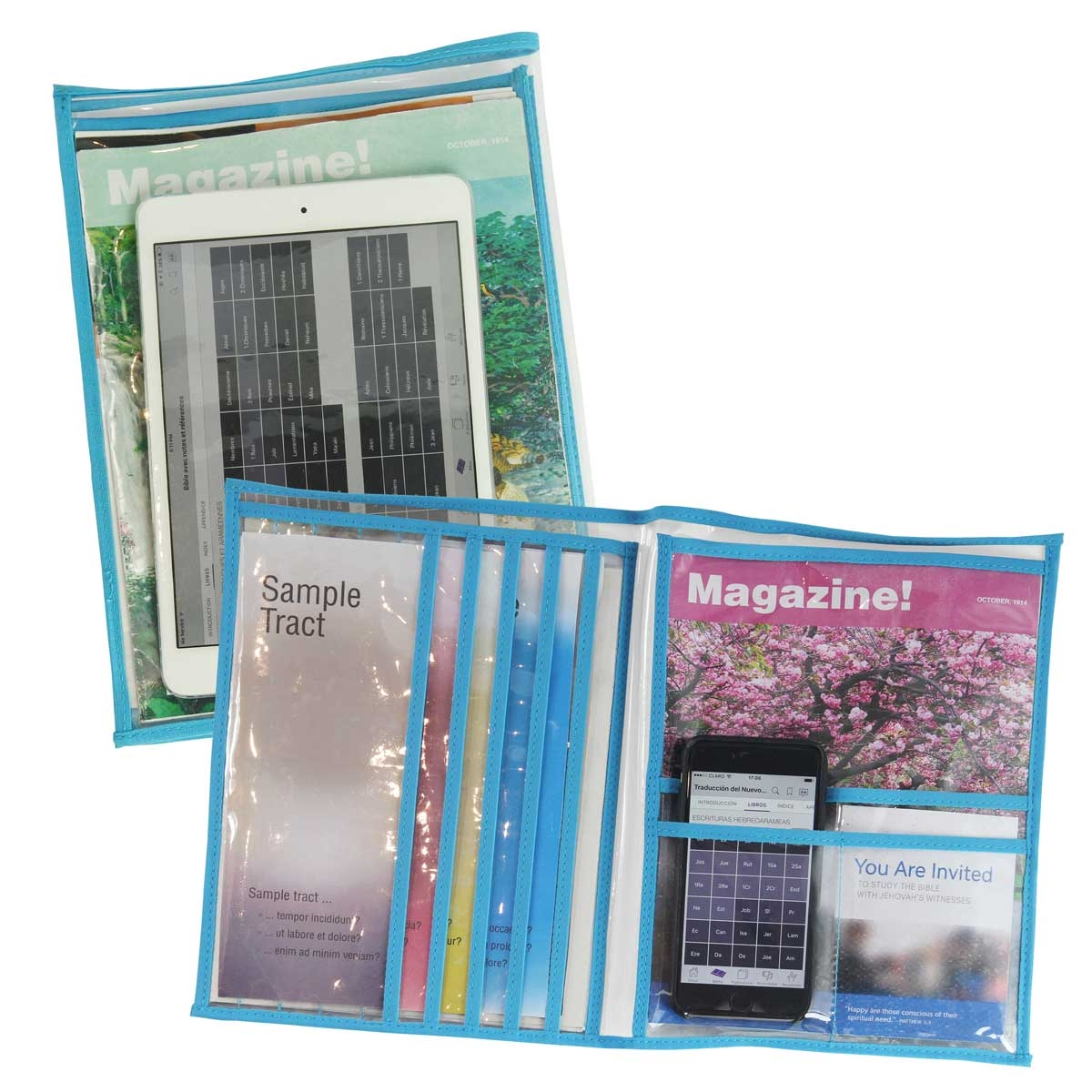The Phillip Pouch: a Tablet and Magazine Pouch for Jehovah's Witnesses