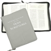 for LARGE PRINT BIBLE (with ZIPPER): Cover for New World Translation - with FOIL STAMPED TITLE (various colors/leather & vinyl)