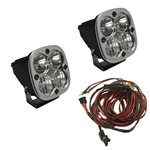 Baja Designs Squadron Sport LED Pair with Harness
