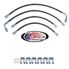 Crown 6in Extended Brake Line Kit 2012 Dodge 4x4 DUAL Rear 2pc