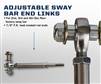 Carli Suspension Dodge Adjustable Sway Bar End Links