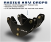 Carli Suspension Radius Arm Drop Brackets Ram 13+
