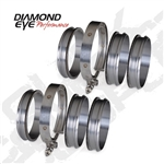 Diamond Eye 4 in Exhaust Coupler kit