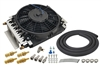 Derale - 16 Pass Electra-Cool Transmission Cooler Kit, -6AN Inlets