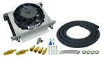Derale - 25 Row Hyper-Cool Remote Transmission Cooler Kit, -8AN