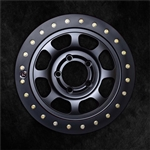 Trail Ready BeadLOOKS Simulated Beadlock HD Series Cast Wheel 17x8 8-6.5