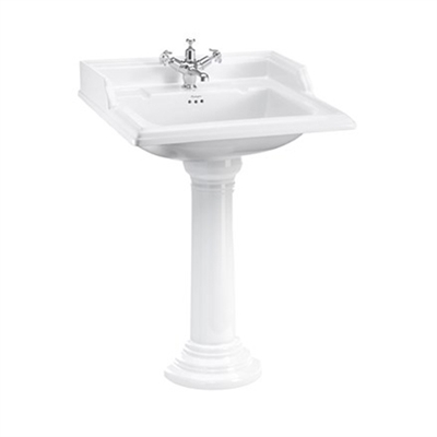 Burlington Classic 65cm Basin with Regal Pedestal