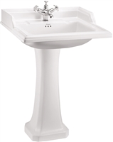 Burlington Classic 65cm Basin with Pedestal