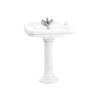 Burlington Edwardian 80cm Basin with Pedestal