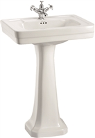Burlington Contemporary 575mm Basin with Pedestal