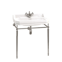 Burlington Edwardian 80cm Basin with Basin Stand