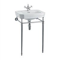 Burlington Victorian 560mm Basin with Basin Stand