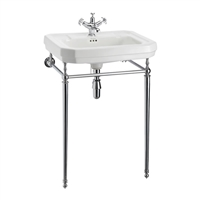 Burlington Victorian 610mm Basin with Basin Stand