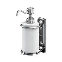 Burlington Chrome Single Soap Dispenser