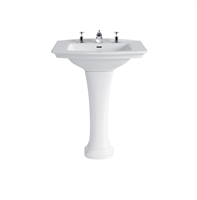 Heritage Blenheim Standard Basin With Pedestal
