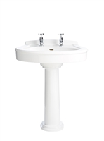 Heritage Claverton Standard Basin With Pedestal