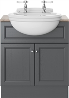 Heritage Claverton Semi-Recessed Basin