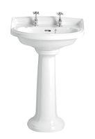 Heritage Dorchester Medium Basin With Pedestal
