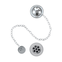 Burlington Bath Overflow Plug and Chain