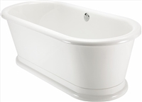 Burlington London Round Double Ended Bath