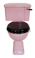 TRTC Pink Art Deco Close Coupled Toilet