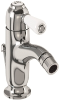 Burlington Chelsea Curved Bidet Mixer with Pop Up Waste