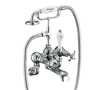Burlington Anglesey Wall Mounted Bath Shower Mixer - AN17 & AN21