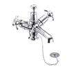 Burlington Anglesey Basin Mixer with Plug & Chain