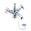 Burlington Birkenhead Basin Mixer with High Central Indice with Plug and Chain Waste