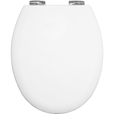 Bemis White New York Soft Close Toilet Seat