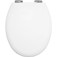 Bemis White Buxton Stay Tight 2850CPT Toilet Seat