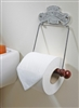 The Albert Toilet Roll Holder Bright Chrome