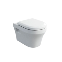 Britton Fine S40 Wall Hung Pan with Soft Close Angled Seat