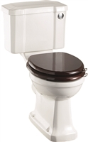 Burlington Regal Close Coupled Pan with Push Button Cistern